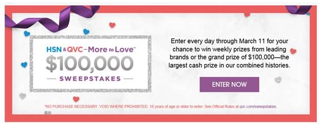 HSN & QVC More to Love Sweepstakes